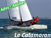 stage voile catamaran