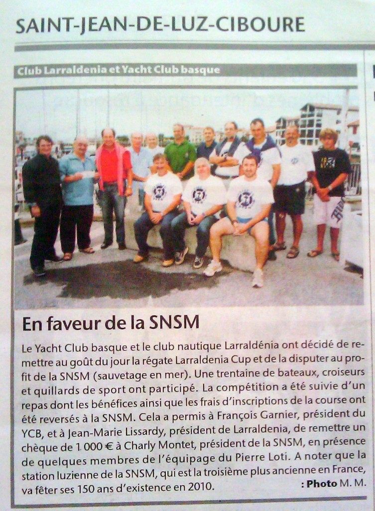 Article Presse Sud Ouest