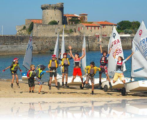 résultat de régate à socoa au yacht club basque